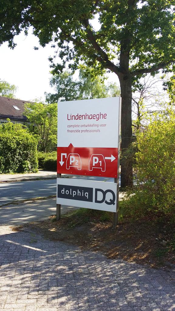 Lindenhaeghe-parkeerborden