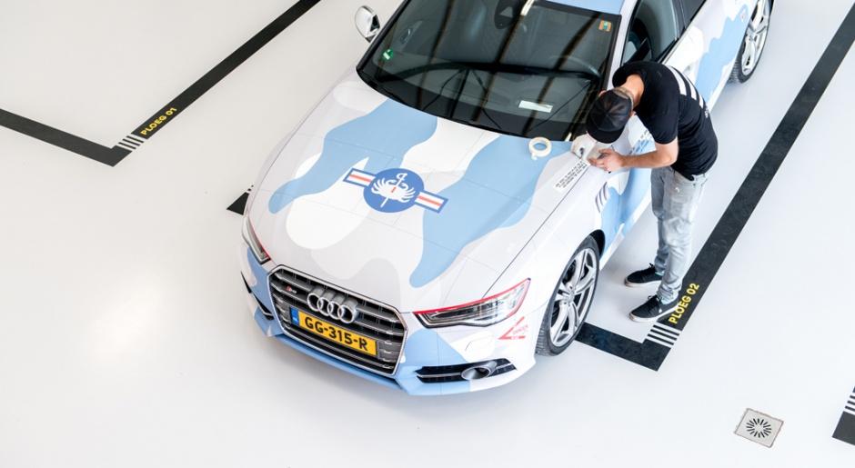 Car wrap Audi A6