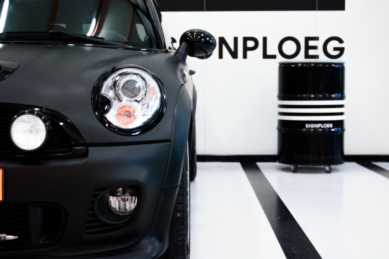 Detail-carwrap-mini-cooper