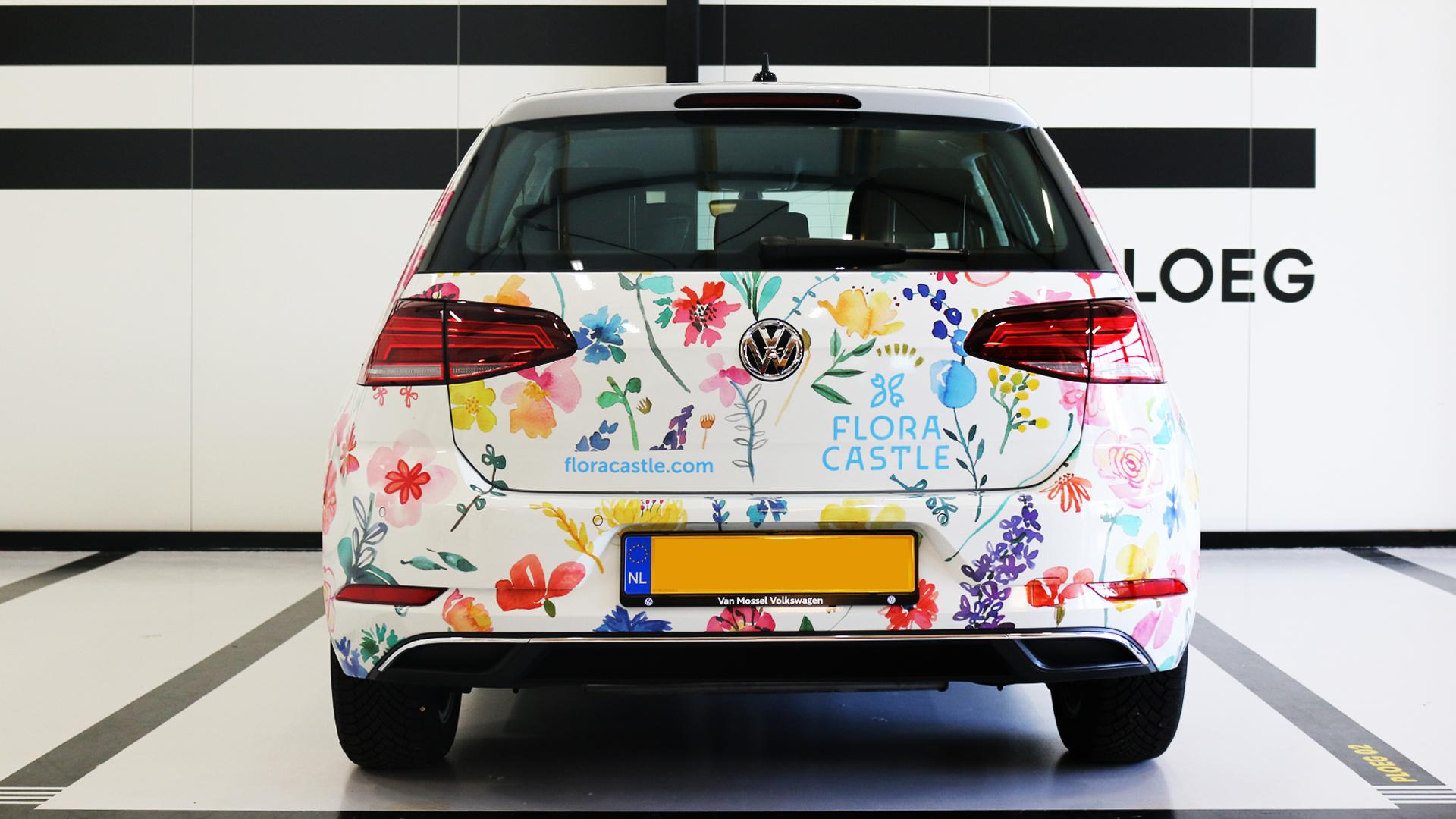 volkswagen-golf-flower-wrap