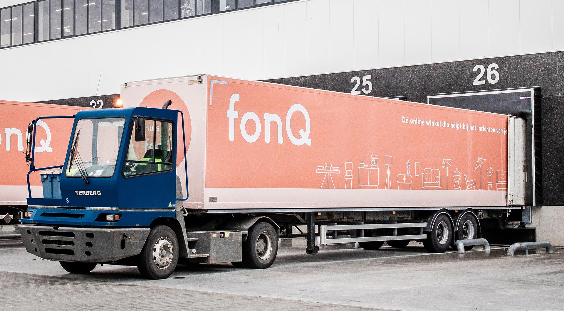 Voertuigbelettering voor transportbedrijven