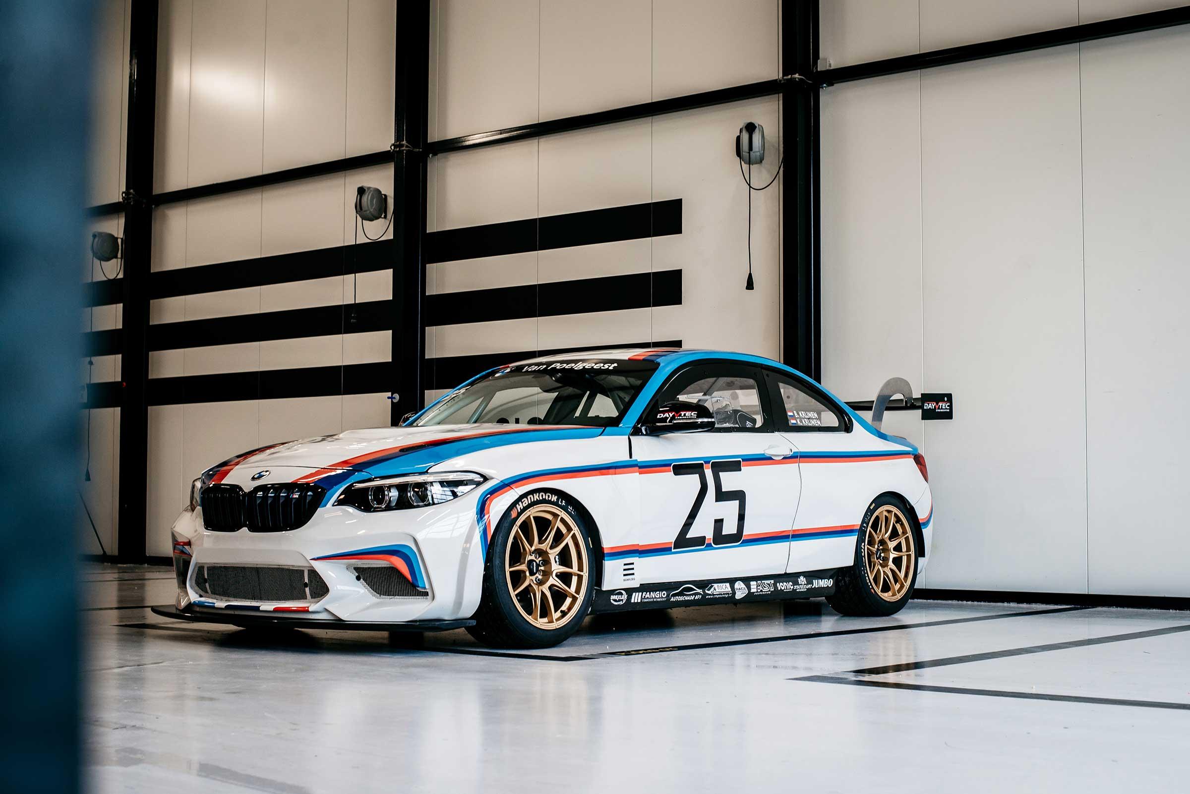 Striping BMW bestuurderskant 2