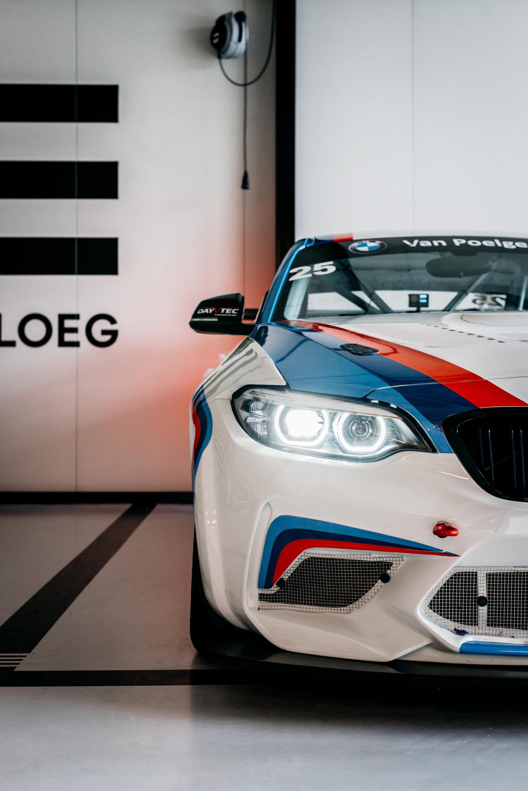 Striping BMW voorkant